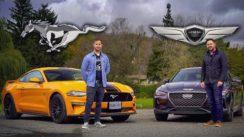 SHOWDOWN: Genesis G70 3.3t vs Ford Mustang GT
