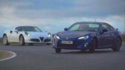 Alfa Romeo 4C vs Porsche Cayman vs Toyota GT86 / Scion FT86