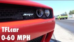 2015 Dodge Challenger Hellcat 0-60 MPH Test