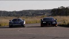 Bugatti Veyron Vitesse vs Koenigsegg Agera R