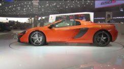 McLaren 650S Spider Debut at Geneva Motor Show