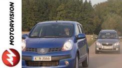 Nissan Note vs Skoda Roomster Car Comparison
