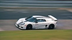 Twin-Turbo Rossion Q1 on the Track!