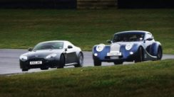 Aston Martin V8 Vantage S vs Morgan Aero Coupe