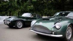 Aston Martin Centenary Celebration at Kensington Gardens