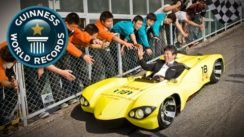 World's Lowest Roadworthy Car – Guinness World Records Video