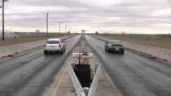Hennessey Cadillac CTS-V Wagon vs Porsche 911 Twin Turbo