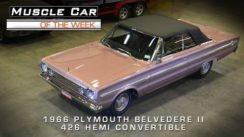 Muscle Car: 1966 Plymouth Belvedere II 426 Hemi Convertible