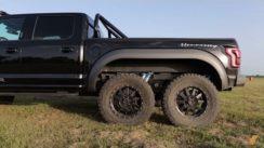 $350,000 Hennessey VelociRaptor 6×6