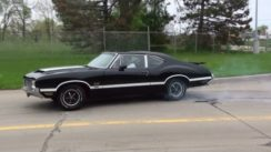 1970 Oldsmobile 442 W-30 Post Coupe Burnout