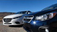 2014 Mazda3 vs Subaru Impreza 0-60 MPH Matchup Review