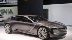 The Opel Monza Futuristic Concept Car
