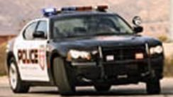 Miata vs Charger Police Car