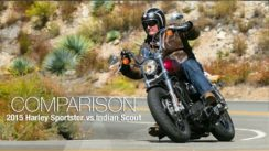2015 Harley Sportster vs Indian Scout