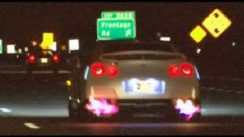 1000HP Nissan GT-R Flyby's