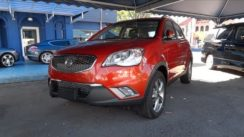 2011 Ssangyong Actyon AWD Start-Up & Full Vehicle Tour