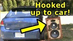 Funny Car Crash Scare Prank