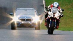 BMW M5 vs BMW S1000RR Superbike