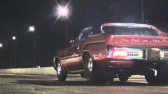8 Second Car: Pro Street 71 Mercury Cougar Drag Racing
