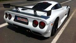 Mosler MT900 GTR Exotic Car Spotted at Nurburgring!