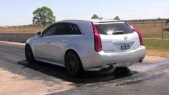 Hennessey's Hammer Wagon Doing Burnouts