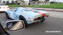 Blue Superformance Ford GT40 Gulf Replica