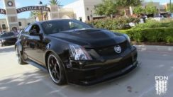Hennessey Twin Turbo CTS-V at Coffee and Cars