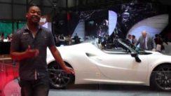 Alfa Romeo 4C Spider Concept Revealed