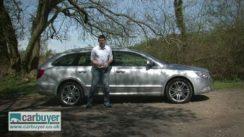Skoda Superb Estate Car Review