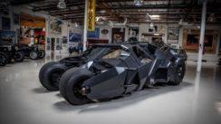 Batman's Tumbler at Jay Leno's Garage