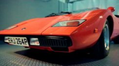 "Orange 1976 Lamborghini Countach LP400 ""Periscopica"""