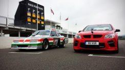 Vauxhall VXR8 GTS vs Vauxhall Baby Bertha on the Track