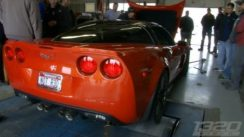 Stock C6 Z06 Corvette Dyno