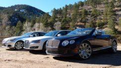 2014 Bentley Continental GT vs Audi A8 TDI vs Lexus LS460 Mashup Review