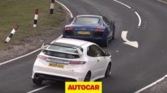 Audi R8 V10 v Honda Civic Type R Mugen Review