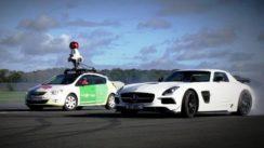 Google Street View Car Encounter with a Supercar
