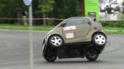 SWEET Smart Fortwo with Kawasaki Ninja Engine