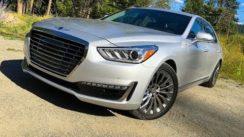 2017 Genesis G90 Luxury Car Review