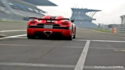 Koenigsegg Agera R w/ Flames out Exhaust