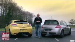 Renaultsport Megane 250 Cup vs R26R Comparison