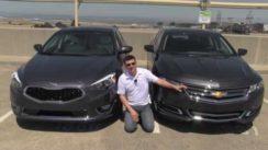 2014 Chevrolet Impala vs Kia Cadenza Review & Road Test
