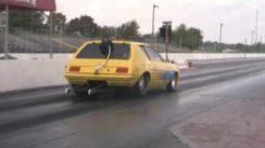 Monster AMC Gremlin Drag Racing