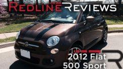 2012 Fiat 500 Sport Car Review & Test Drive