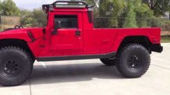 Hummer H1 Pickup Truck KSC2 Overland Search & Rescue Series