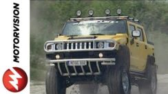 Hummer H2 Bigfoot Hannibal tuned by GeigerCars