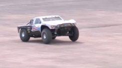 RC Car vs Cadillac CTS-V Drag Race