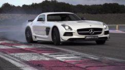 Mercedes SLS AMG Black Series Track Test
