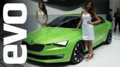 Skoda Vision C at Geneva Auto Show 2014