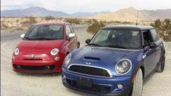 2012 MINI Cooper S vs Fiat 500 Abarth 0-60 MPH Review