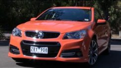 2013 Holden Commodore SSV Ute Car Review